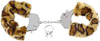 Наручники Pipedream Original Furry Cuffs / 15981 (с гепардовым мехом) -