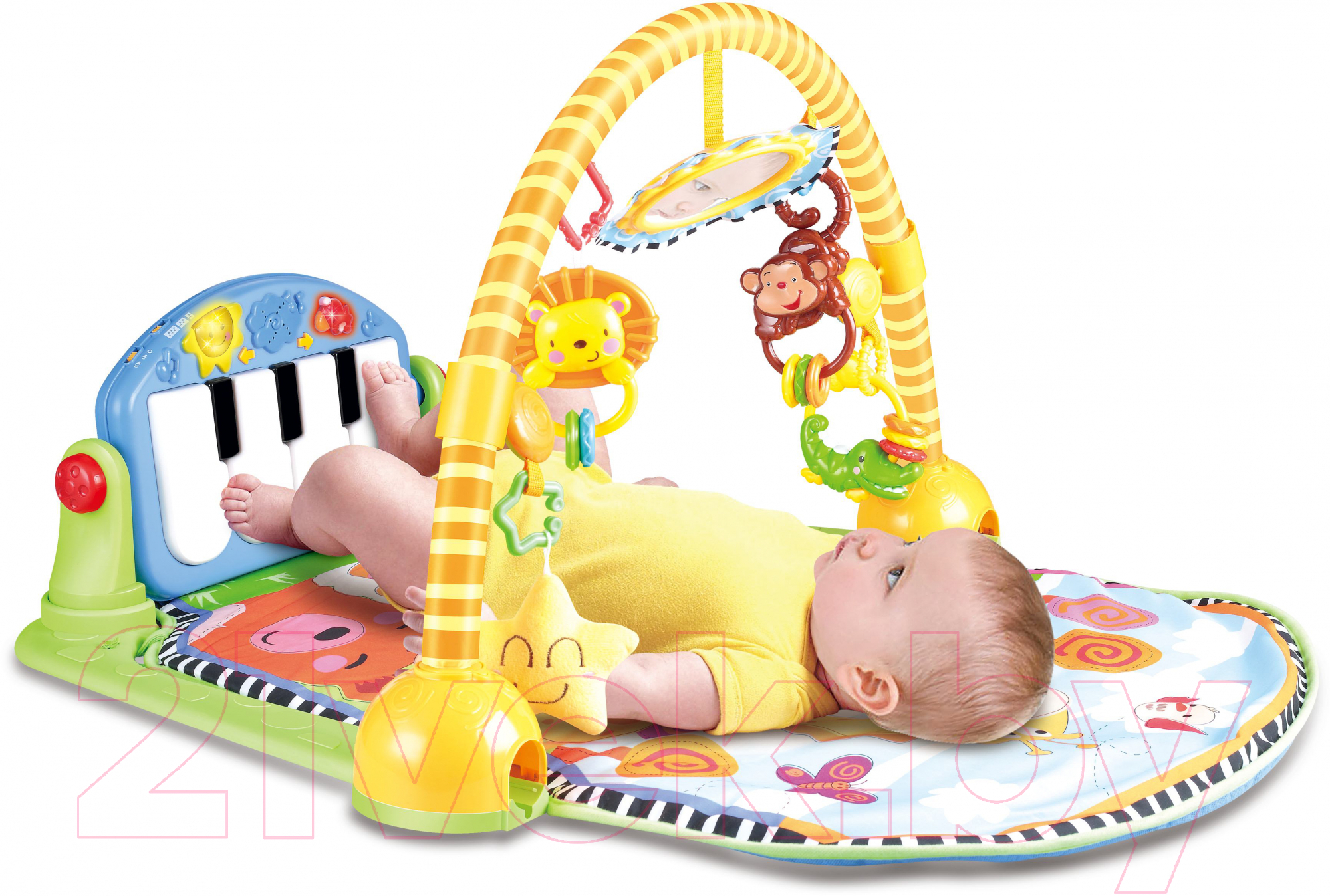 Купить Развивающий коврик Sundays, Музыкальный / 228239, Китай, пластик