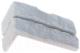 Декоративный камень Stone Mill Кирпич Старый угловой элемент ПГД-1-Л У600 (белый) -