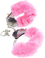 Наручники Pipedream Original Furry Cuffs / 16085 (с розовым мехом) -