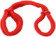 Фиксатор Pipedream Silk Rope Love Cuffs / 16129 (красный) -