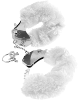 Наручники Pipedream Original Furry Cuffs / 24324 (с белым мехом) -