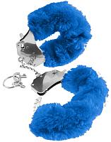 Наручники Pipedream 24325 (с синей меховой опушкой) -