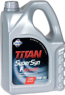 Моторное масло Fuchs Titan Supersyn F Eco-DT 5W30 / 601411618 (5л)