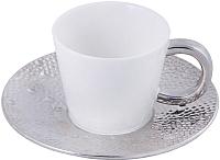 Чашка с блюдцем Home and You 27096-BIA-FIL -