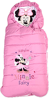 Комбинезон/конверт прогулочный Polini Kids Минни Маус Фея (розовый) -
