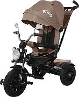 Детский велосипед с ручкой Baby Tilly Tornado T-383 (brown) -