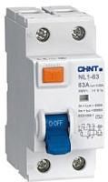 Дифференциальный автомат Chint NXBLE-63Y 1P+N 25A 30mA AС С 4.5kA -