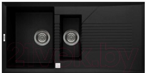 Купить Мойка кухонная Elleci, Tekno 475 Ghisa M70, Италия, искусственный гранит