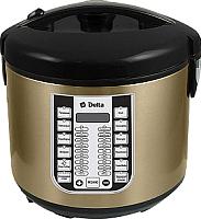 Мультиварка Delta DL-6518 (черный/золото) -