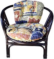 Кресло садовое Мир Ротанга Багама 01/17B (шоколадный) -