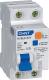 Дифференциальный автомат Chint NXBLE-63Y 1P+N 32A 30mA AС С 4.5kA -