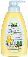 Гель для душа детский Babyline Nature с мятой и солодкой с дозатором / DN72 (500мл) -