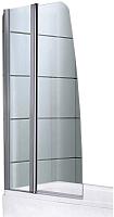Стеклянная шторка для ванны Avanta DS 40/70 (прозрачное стекло) -