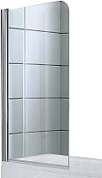 Стеклянная шторка для ванны Avanta DS 80 (прозрачное стекло) -