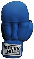 Перчатки для единоборств Green Hill PG-2047 (M, синий) -