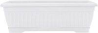Вазон Алеана Терра 114099 (белый флок) -