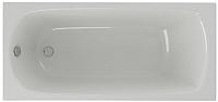 Ванна акриловая Aquatek Ника 170x75 L (с фронтальным экраном и каркасом) -