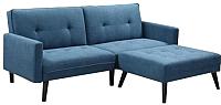 Комплект мягкой мебели Halmar Corner (синий) -