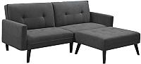 Комплект мягкой мебели Halmar Corner (темно-серый) -