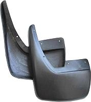 Комплект брызговиков Novline GA2BZNATL для Geely Atlas (2шт, задние) -