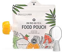 Пакеты для детского питания Happy Baby Food Pouch / 15051 (125мл, 3шт) -