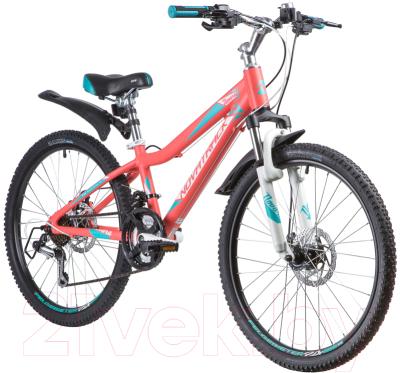Велосипед Novatrack Novara 24AHD.NOVARA.13CRL9