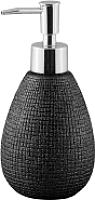 Дозатор жидкого мыла Axentia Hollywood 131575 (черный) -