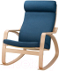 Кресло-качалка Ikea Поэнг 393.028.22 -