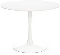 Обеденный стол Halmar Slim (белый) -