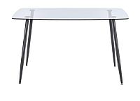 Обеденный стол Halmar Next (стекло/черный) -