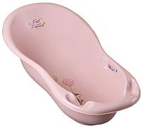Ванночка детская Tega Лесная сказка / FF-005-107 (светло-розовый) -