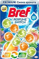 Чистящее средство для унитаза Bref Perfume Switch сочный персик яблоко (2x50) -