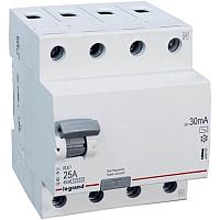 Устройство защитного отключения Legrand RХ3 4P 40A 300mA 10kA 4M АС / 402071 -