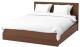 Двуспальная кровать Ikea Мальм 192.108.90 -