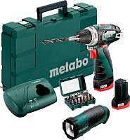 Профессиональная дрель-шуруповерт Metabo PowerMaxx BS Basic (600080930) -
