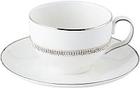 Чашка с блюдцем Home and You 45515-BIA-FIL -