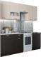 Готовая кухня SV-мебель Розалия 1.7 (дуб венге/дуб млечный) -