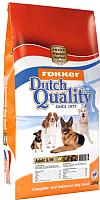 Корм для собак Fokker Dutch Quality Adult S/M / 6020 (20кг) -