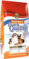 Корм для собак Fokker Dutch Quality Lamb & Rice / 6312 (20кг) -