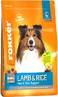 Корм для собак Fokker Dutch Quality Lamb & Rice / 2013 (13кг) -