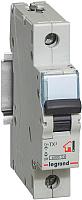 Выключатель автоматический Legrand TX3 1P B 10A 6kA 1M / 403970 -