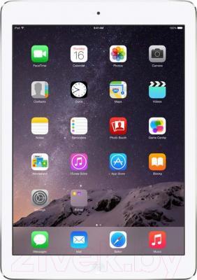 Планшет Apple iPad Air 2 64Gb 4G / MGHY2TU/A (серебристый) - фронтальный вид