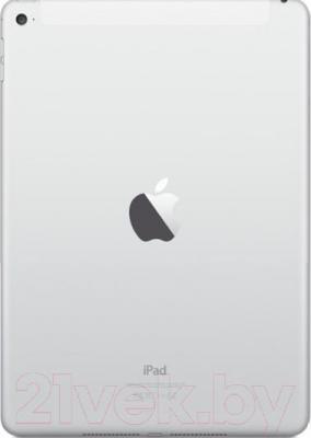 Планшет Apple iPad Air 2 128GB 4G / MGWM2TU/A (серебристый) - вид сзади