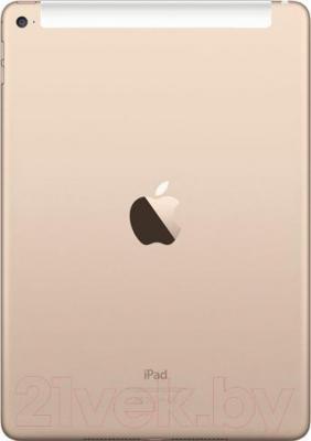 Планшет Apple iPad Air 2 128GB 4G / MH1G2TU/A (золото) - вид сзади
