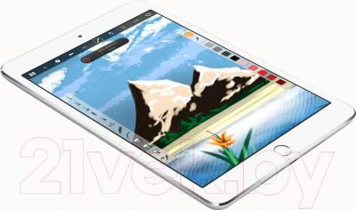 Планшет Apple iPad Mini 3 16Gb / MGNV2TU/A (серебристый) - общий вид