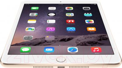 Планшет Apple iPad Mini 3 64Gb 4G / MGYN2TU/A (золото) - вид снизу