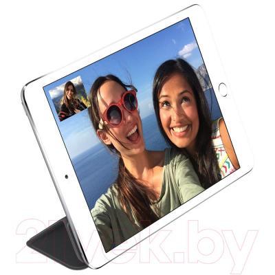 Чехол для планшета Apple iPad Mini Smart Cover / MGNC2 (черный) - пример использования
