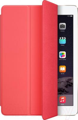Чехол для планшета Apple iPad Air Smart Cover MGXK2ZM/A (розовый) - общий вид
