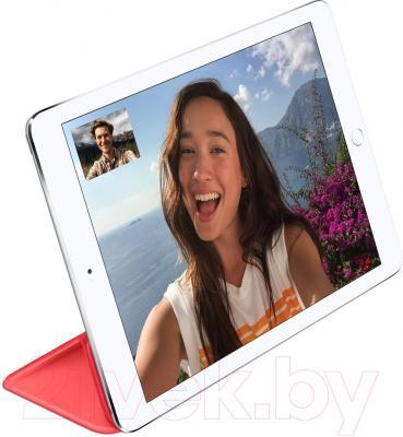 Чехол для планшета Apple iPad Air Smart Cover MGXK2ZM/A (розовый) - пример использования